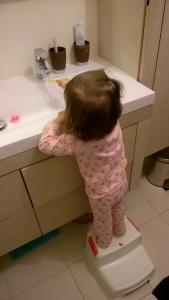 Pratique pour le lavage de dents !