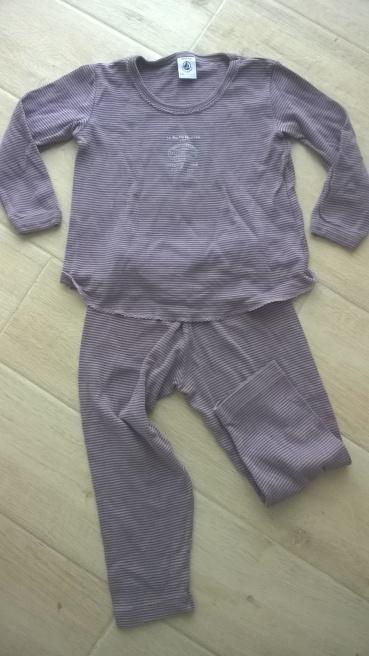 Pyjama Petit Bateau 3 ans (4€)