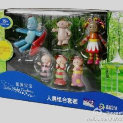 "Figurines de ""in the night garden"" (série anglaise que ma poupette adore)"