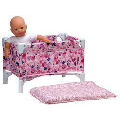 Lit et table à langer pour la poupée