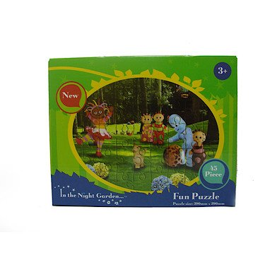 """Puzzle """"In the Night Garden"""" 45p"""