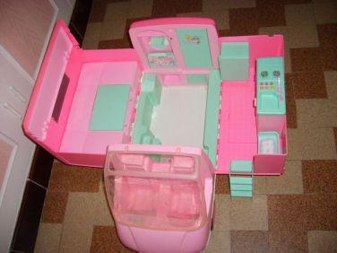 Camping car Barbie années 80 2