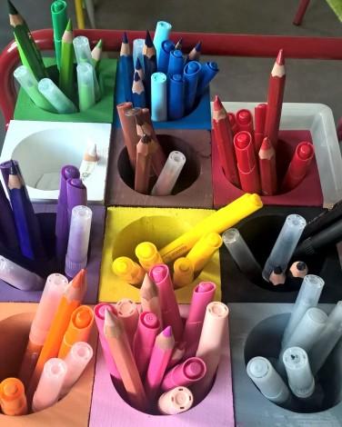 pots crayons Montessori 2