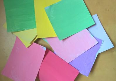 carrés peinture